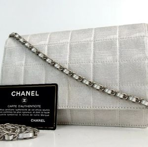 Chanel travel line wallet on a chain